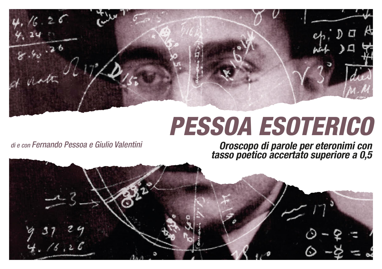 Pessoa Esoterico_Locandina