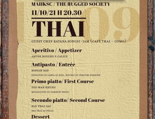 Thai Dinner – 11 Ottobre 2021