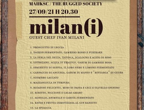 SPECIAL EVENT: Milan(i) – 27 Settembre ore 20.30